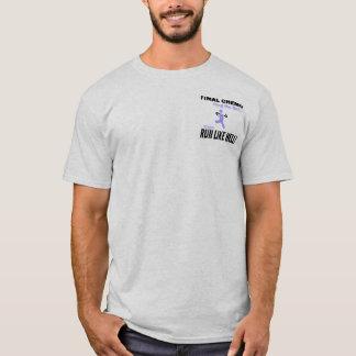 最終的なChemoは多くを-ラベンダーのリボン走ります Tシャツ
