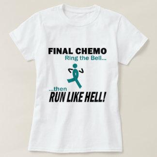 最終的なChemoは多くを-卵巣癌走ります Tシャツ
