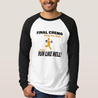 最終的なChemoは多くを-白血病走ります Tシャツ