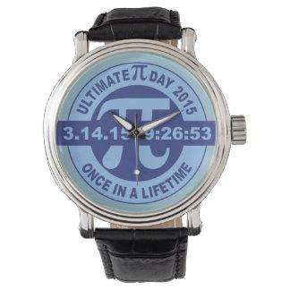最終的なPi日腕時計2015 3.14.15 9:26: 53時計 腕時計