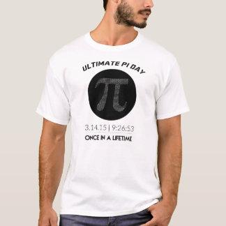 最終的なPi日2015のTシャツ Tシャツ
