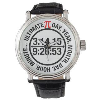 最終的なPi日2015年 腕時計