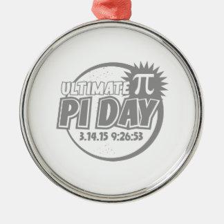 最終的なPi日 メタルオーナメント