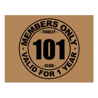 最終的に101クラブ ポストカード