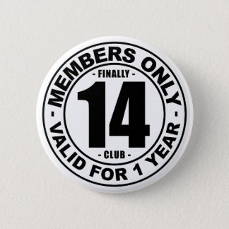 最終的に14クラブ 5.7CM 丸型バッジ