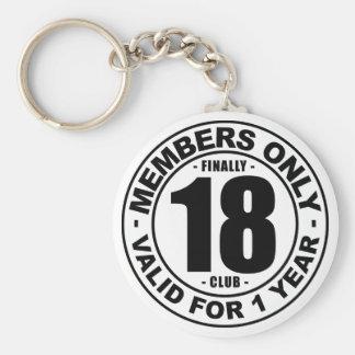 最終的に18クラブ キーホルダー