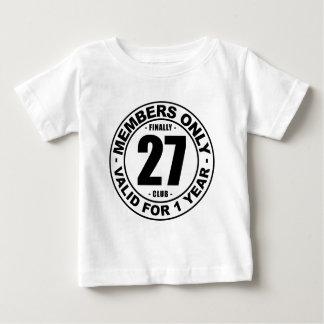 最終的に27クラブ ベビーTシャツ