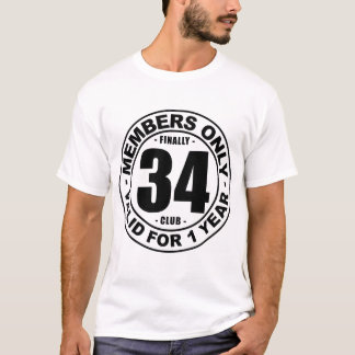 最終的に34クラブ Tシャツ