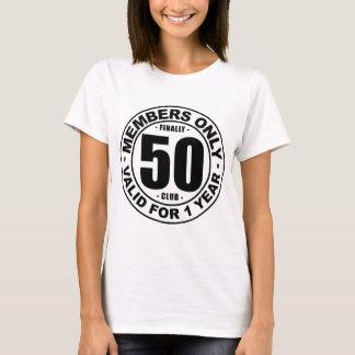最終的に50クラブ Tシャツ