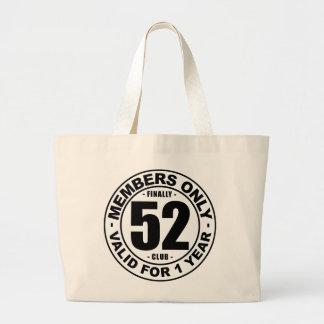 最終的に52クラブ ラージトートバッグ