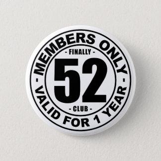 最終的に52クラブ 5.7CM 丸型バッジ