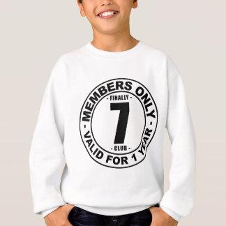 最終的に7クラブ スウェットシャツ