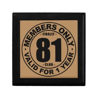 最終的に81クラブ ギフトボックス