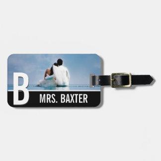 最近新婚旅行の婚約のカスタムな荷物のラベルを結婚して下さい ネームタグ
