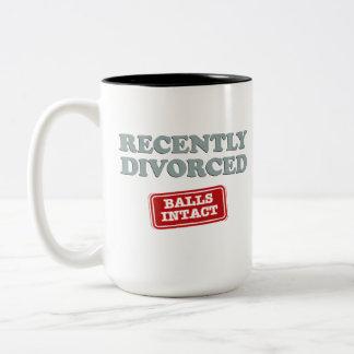 最近、球そのまま離婚される ツートーンマグカップ