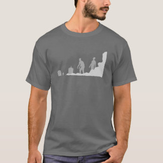 最近Undeceased -灰色 Tシャツ
