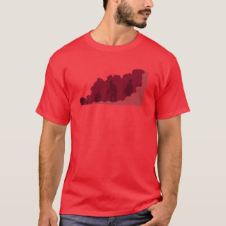 最近Undeceased -赤 Tシャツ