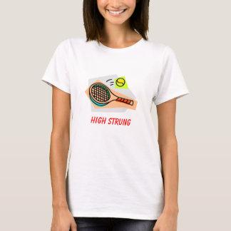 最高によってひもでつながれるテニス Tシャツ