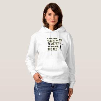 最高に女性のフード付きスウェットシャツのハンマー投げ パーカ
