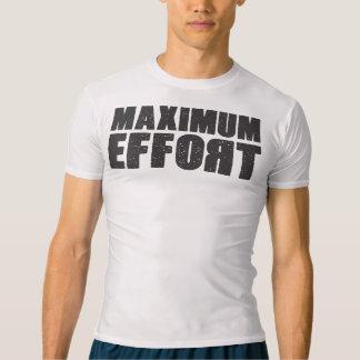 最高の努力の圧縮のTシャツ Tシャツ