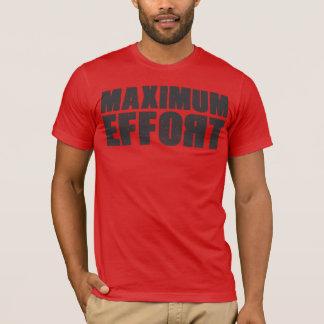 最高の努力のTシャツ Tシャツ
