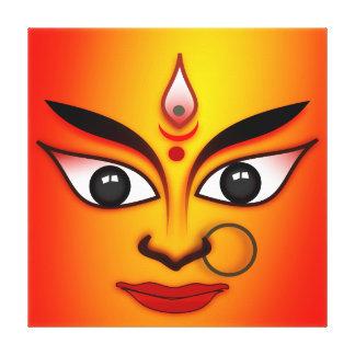 最高の女神Durgaはキャンバスのプリントを伸ばしました キャンバスプリント