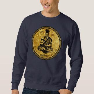 最高の皇族の最初仏教のスエットシャツ(金ゴールド) スウェットシャツ