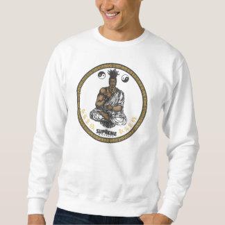 最高の皇族の最初仏教のスエットシャツ(Gd/Blk) スウェットシャツ
