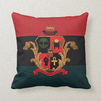 最高の皇族の高潔の頂上の枕(、黒三) クッション