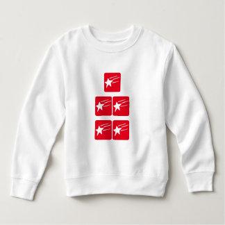 最高の5つの星の最高の輝きのイメージの芸術 スウェットシャツ