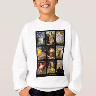 最高傑作のゴールデン・リトリーバー スウェットシャツ