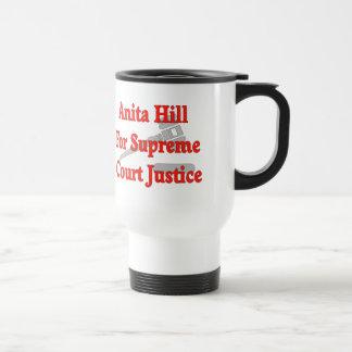 最高裁裁判官のアニータの丘 トラベルマグ