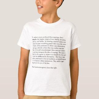 最高裁裁判官のアンソニーケネディのゲイ同志の結婚 Tシャツ