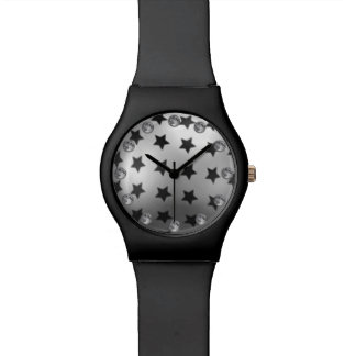 月および星の腕時計 腕時計