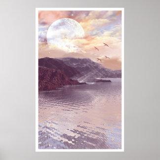 月および水1 ポスター
