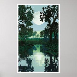月および水2 ポスター