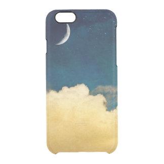 月およびCloudscape クリアiPhone 6/6Sケース