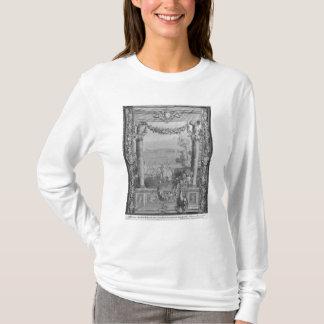 月か王室のな住宅のタペストリー Tシャツ