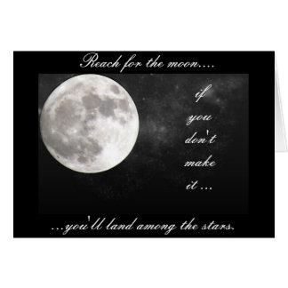月のための範囲..... カード