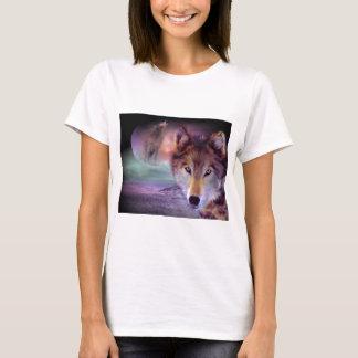 月のオオカミ Tシャツ