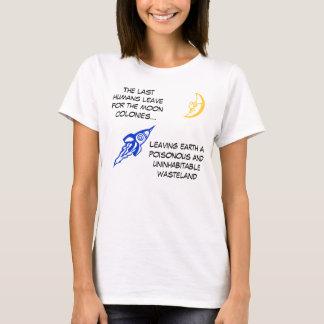 月のコロニー Tシャツ