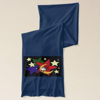 月のスカーフを飛び越しているおもしろいな牛 スカーフ