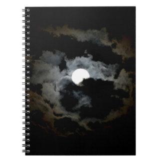 月のノート ノートブック