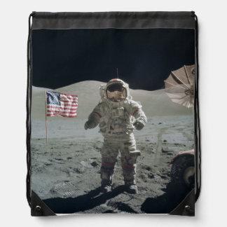月のバッグの人 ナップサック