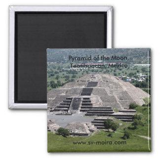 月のピラミッド、Teotihuacan、メキシコ マグネット
