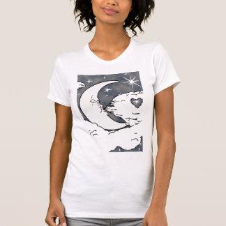 月のファンタジー Tシャツ