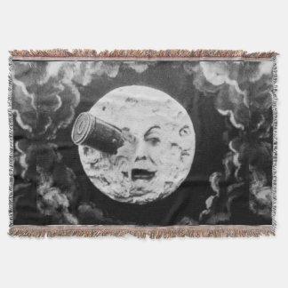 月のレトロのヴィンテージのフランス人映画への旅行 スローブランケット