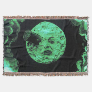 月のレトロの火星の緑への旅行 スローブランケット