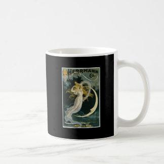 月のヴィンテージの手品師の行為のHerrmannの~の女中 コーヒーマグカップ