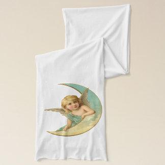 月のヴィンテージの甘い天使 スカーフ